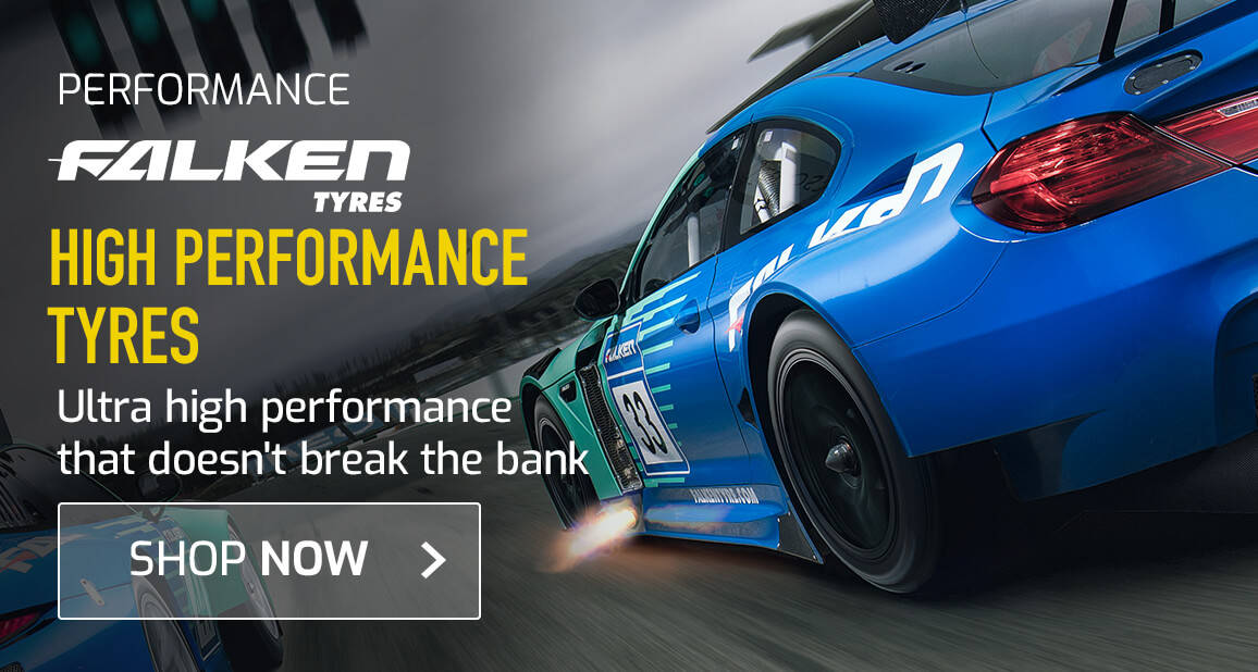 Falken High Performance Tyres - Have you got a grip on the road ahead?