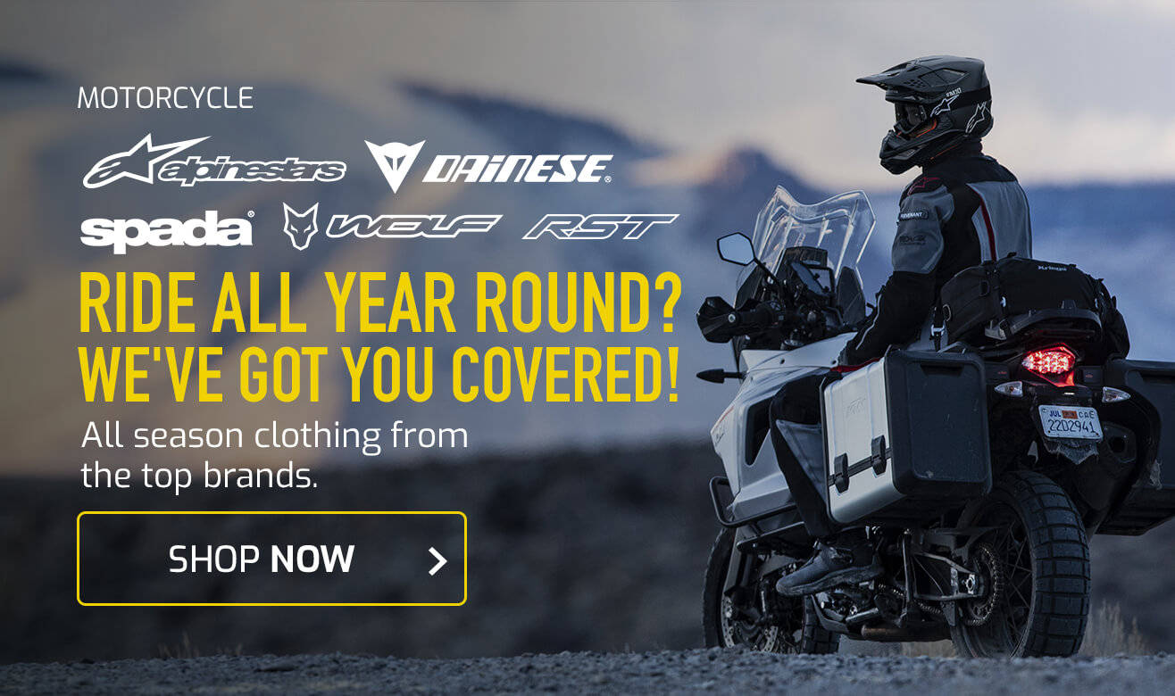 Shop Motorcycle Clothing