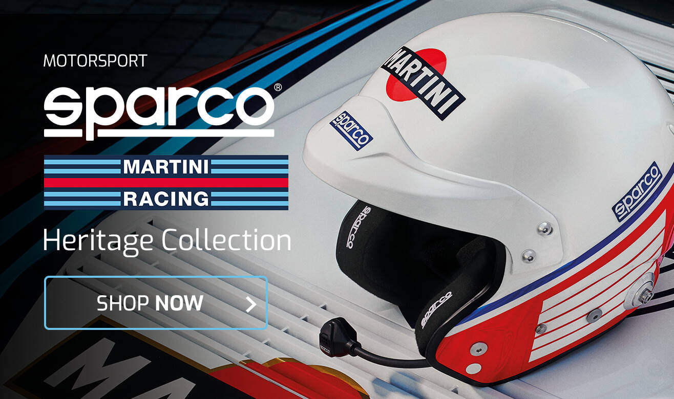 Shop Sparco Martini Racing Heritage Collection