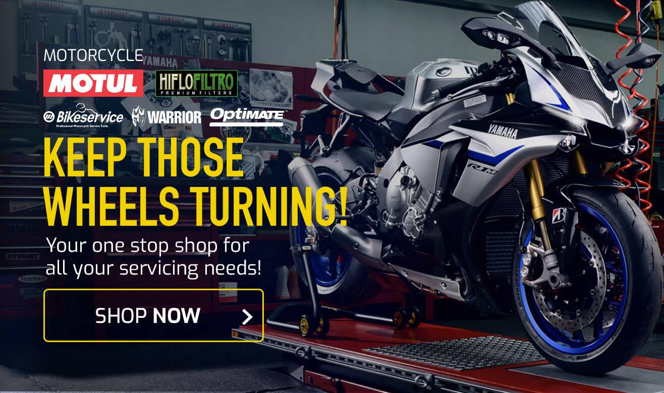 Shop Motorcycle Parts & Servicing