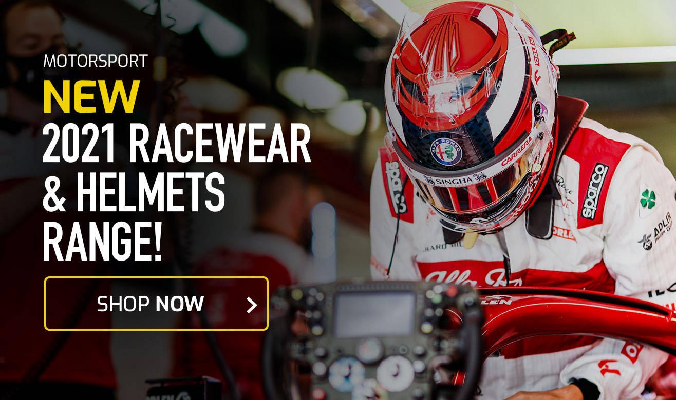 Shop New 2021 Racewear & Helmet Range