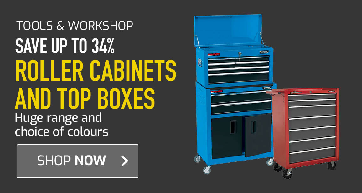 Roller cabinets and Top Boxes - Save 34%