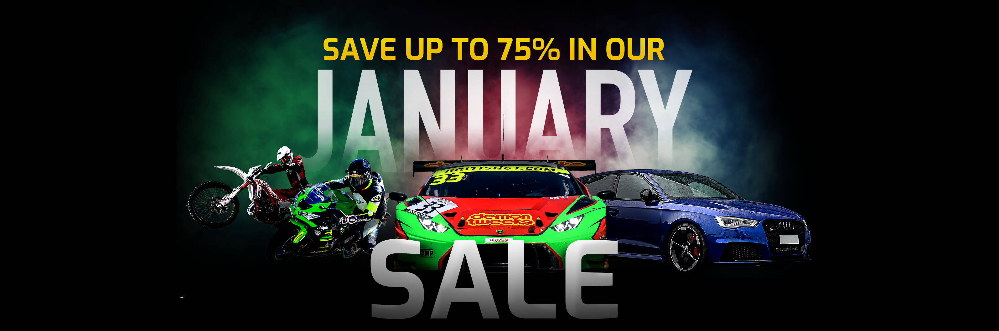 Save up to 75% in our Boxing Day Sale