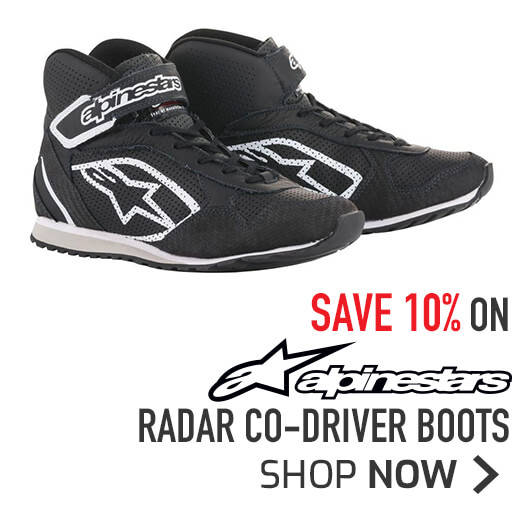 10% off Alpinestars Radar Co-Driver Boots