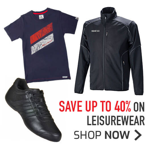 Save up to 40% on Leisurewear