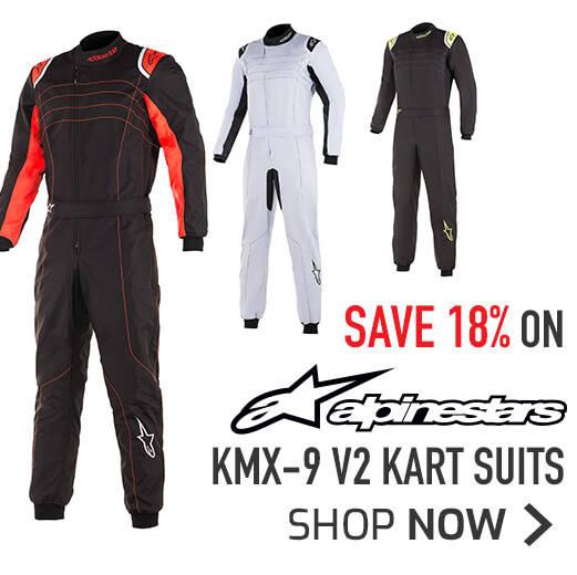 Save 18% on Alpinestars KMX-9 V2 Kart Suits