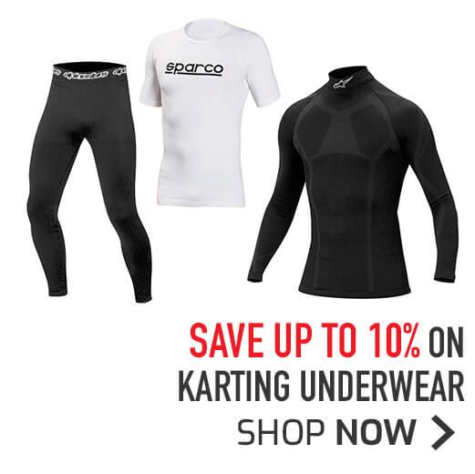 Save up to 10% on Karting Underwear