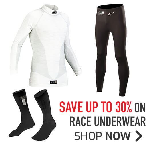 Save up to 30% on Race Underwear