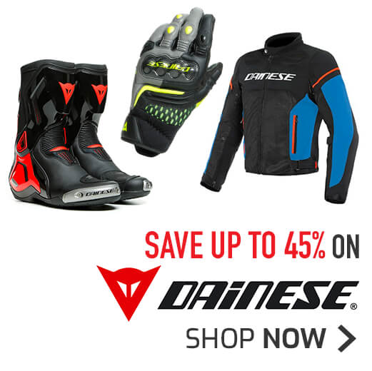Save Up To 45% On Dainese