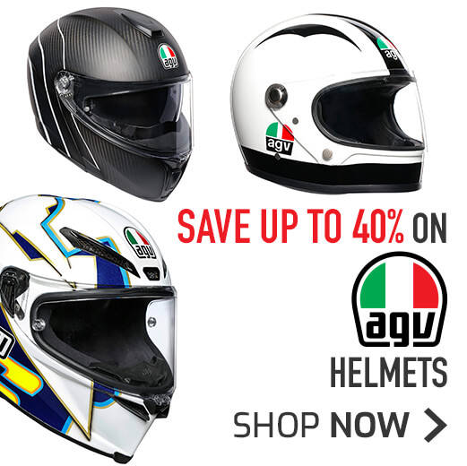 Save Up To 40% On AGV Helmets