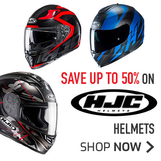 Save Up To 50% On HJC Helmets