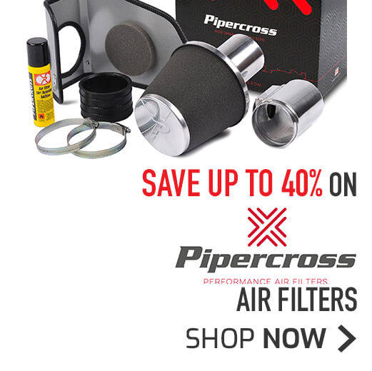 Pipercross Air Filters Save Up To 40%