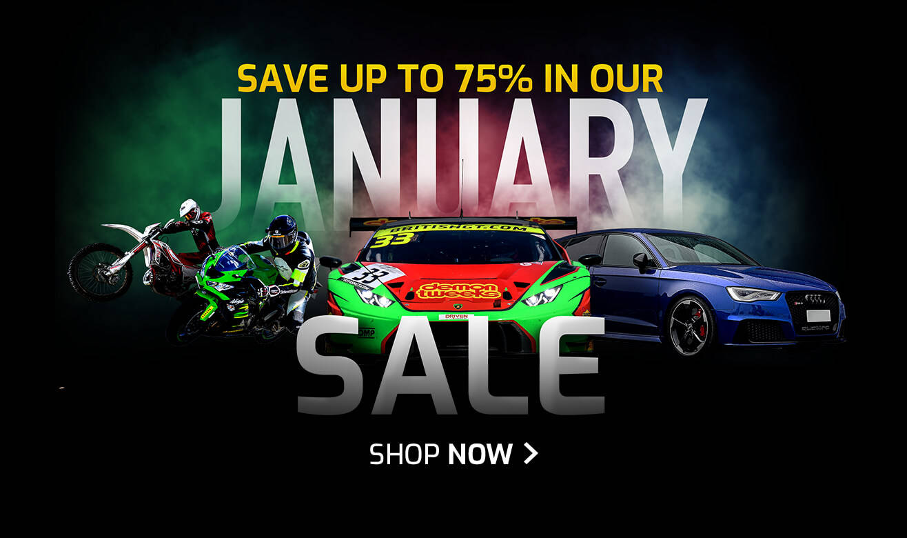 Save up to 75% in our January Sale