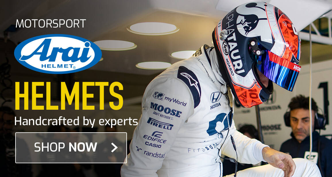 Arai Helmets - Handcrafted by experts