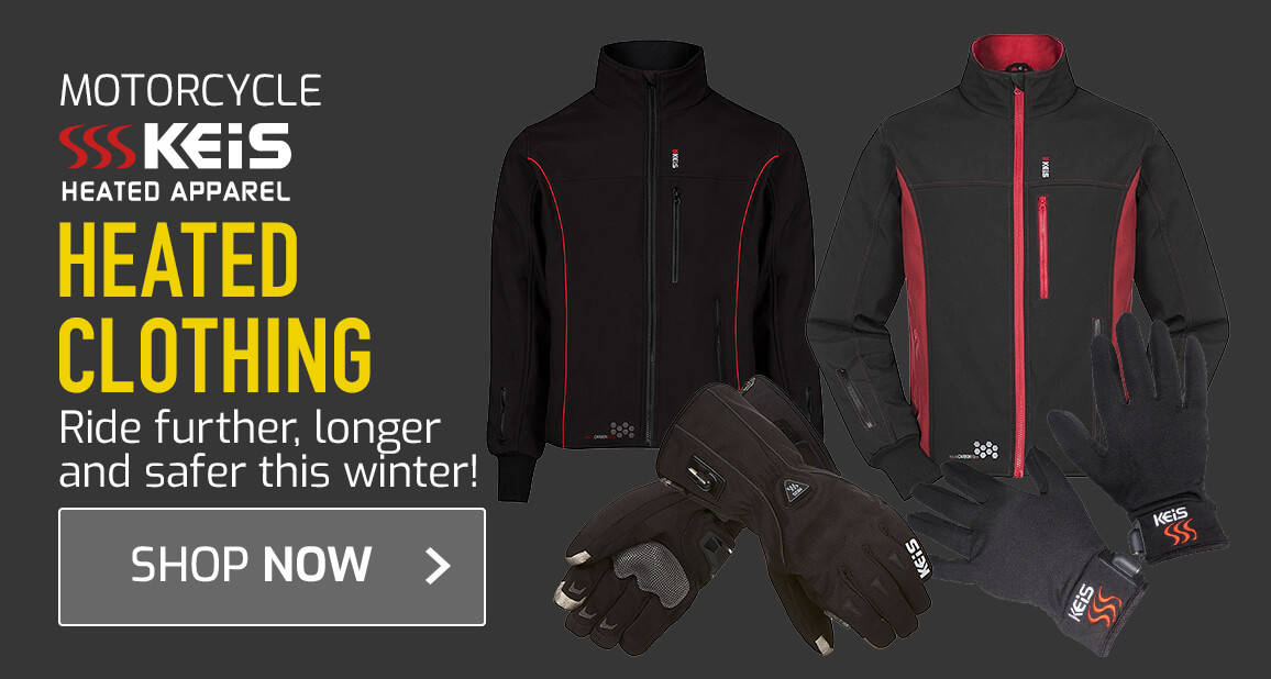Keis Heated Clothing - Ride Further, Longer And Safer This Winter!