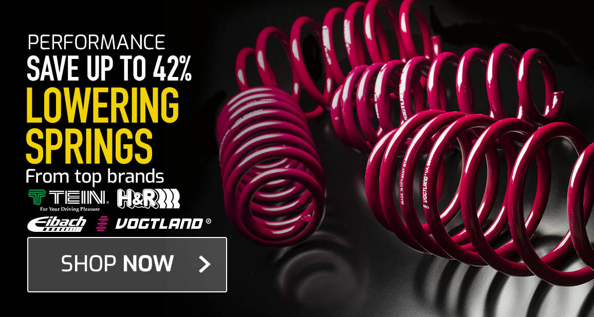 Lowering Springs - Save up to 42%
