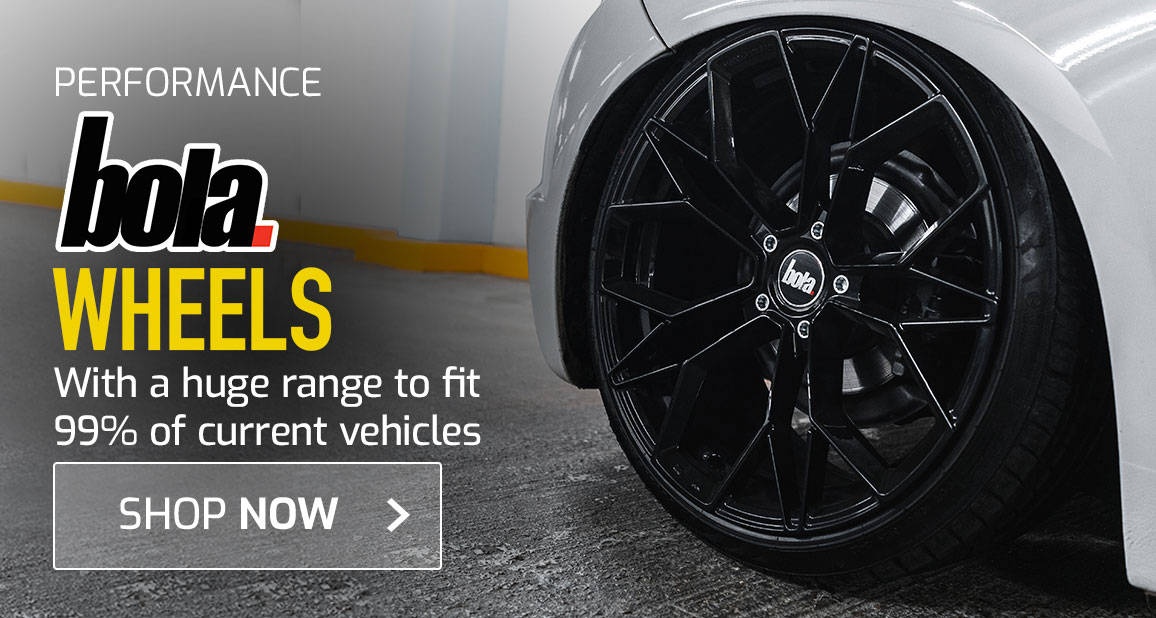 Bola Wheels - With a huge range to fit 99% of current vehicles
