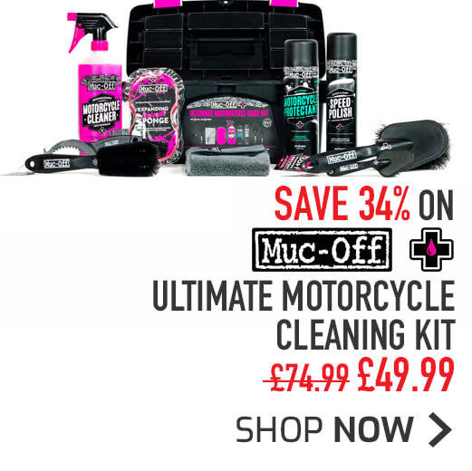 Muc-Off Ultimate Motorcycle Cleaning Kit - Save 34%