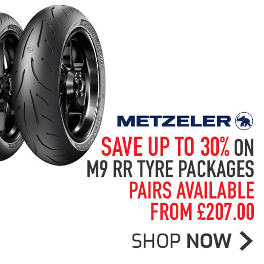 Metzeler M9 RR Tyre Packages - Save Up To 30%