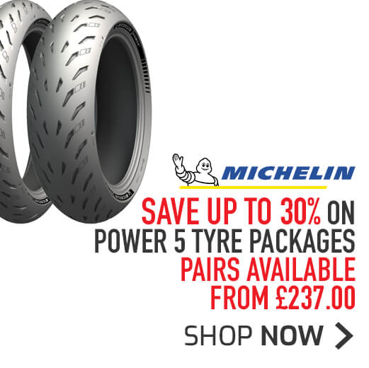 Michelin Power 5 Tyre Packages - Save Up To 30%