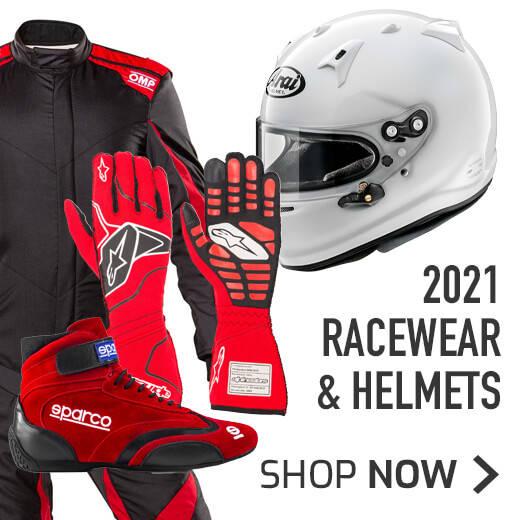 2021 Racewear & Helmets