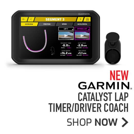 NEW Garmin Catalyst Lap Timer/Driver Coach