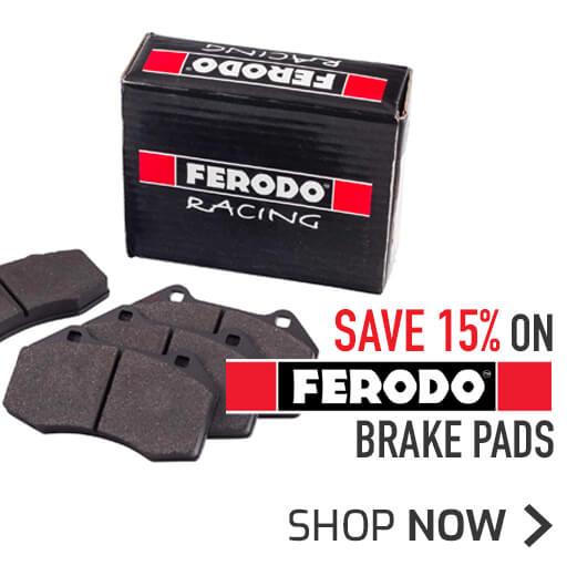Save 15% on Ferodo Brake Pads