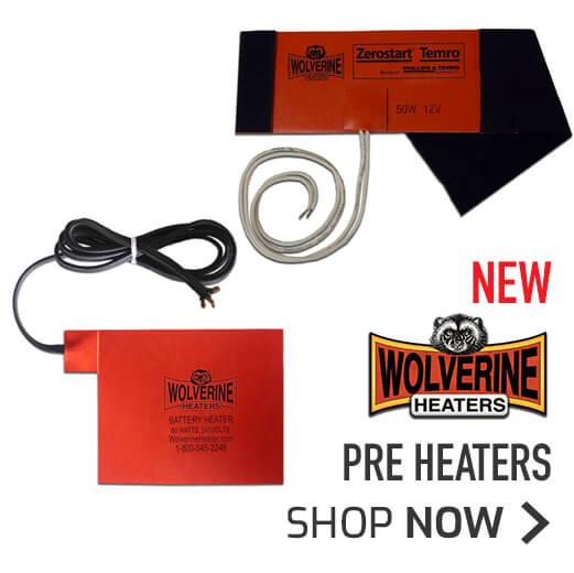 NEW Wolverine Pre Heaters