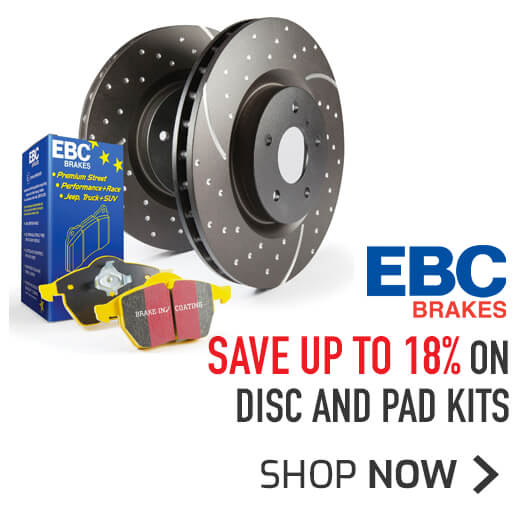 EBC Disc and pad kits - Save up to 18%