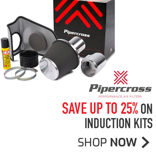 Pipercross Induction Kits - Save up to 25%