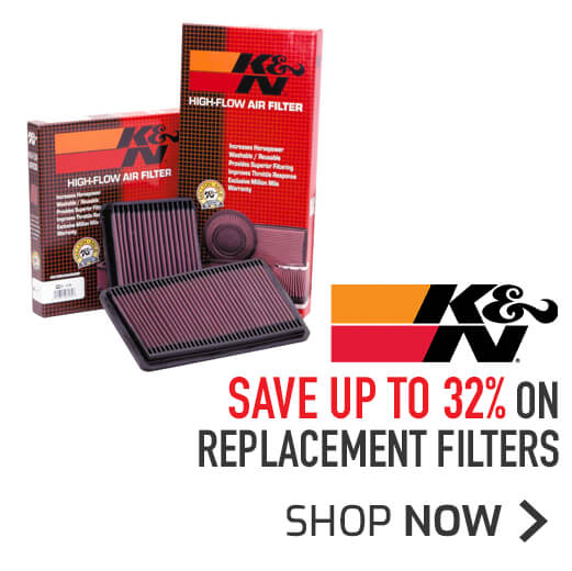K&N Replacement Filters - Save up to 32%