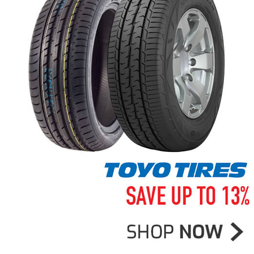 Toyo Tyres - Save up to 13%
