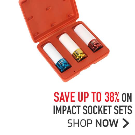 Impact Socket Sets - Save up to 38%