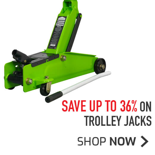 Trolley Jacks - Save up to 36%