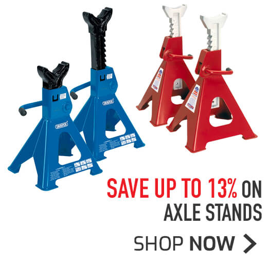 Axle Stands - Save up to 13%