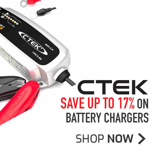 CTEK Battery Chargers - Save up to 17%