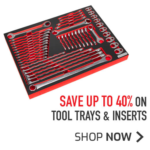 Tool Trays & Inserts - Save up to 40%