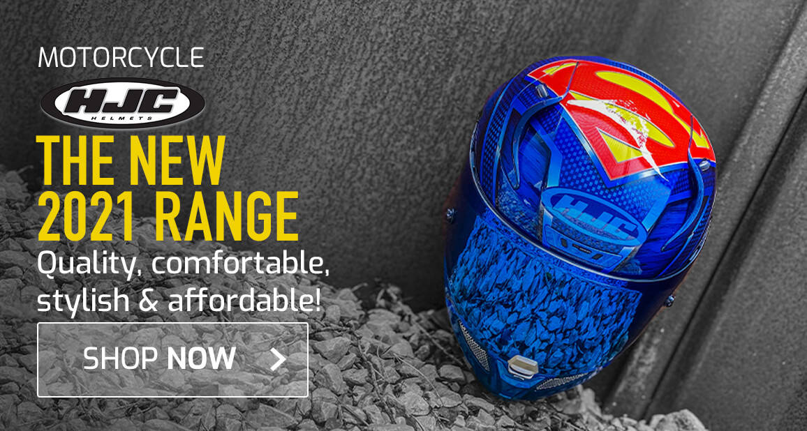 The New HJC 2021 Range - Quality, Comfortable, Stylish & Affordable!