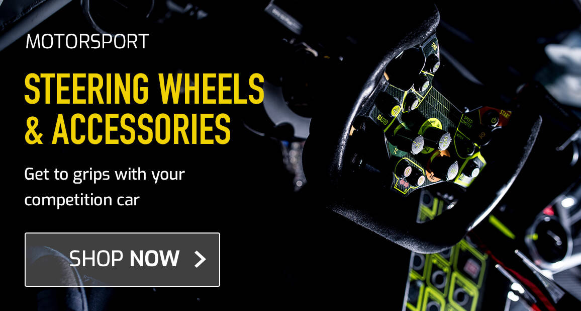 Steering Wheels & Accessories - get to grips with your competition car