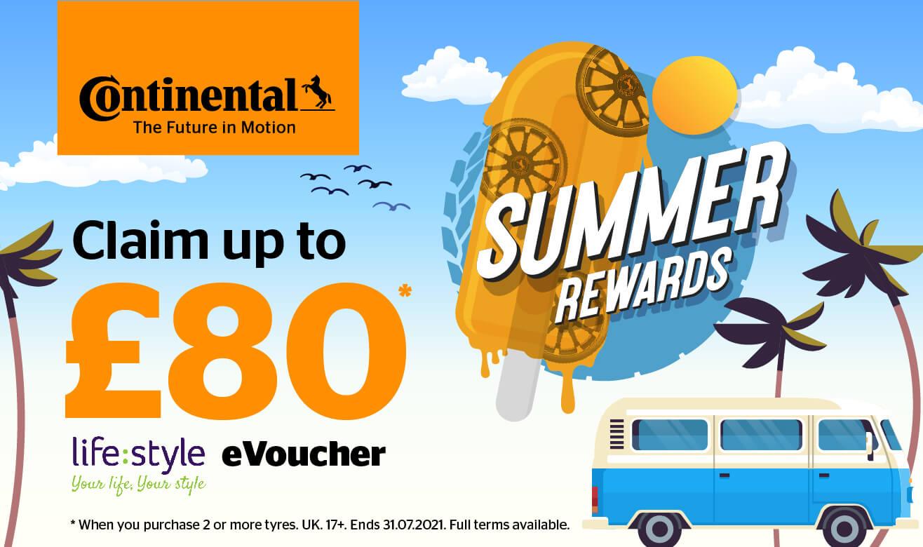 Continental Summer Rewards