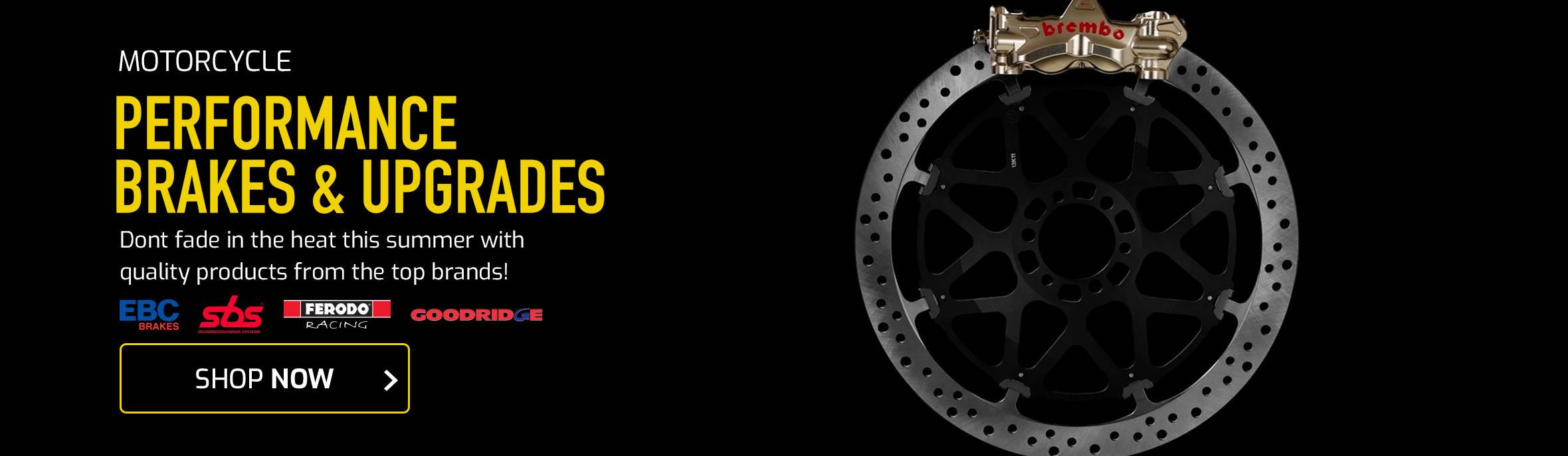 Motorcycle Performance Brakes & Upgrades