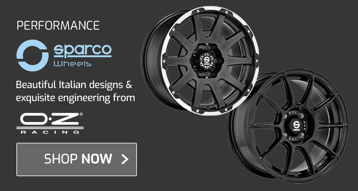 Sparco Wheels - Beautiful Italian designs and exquisite engineering from OZ Racing