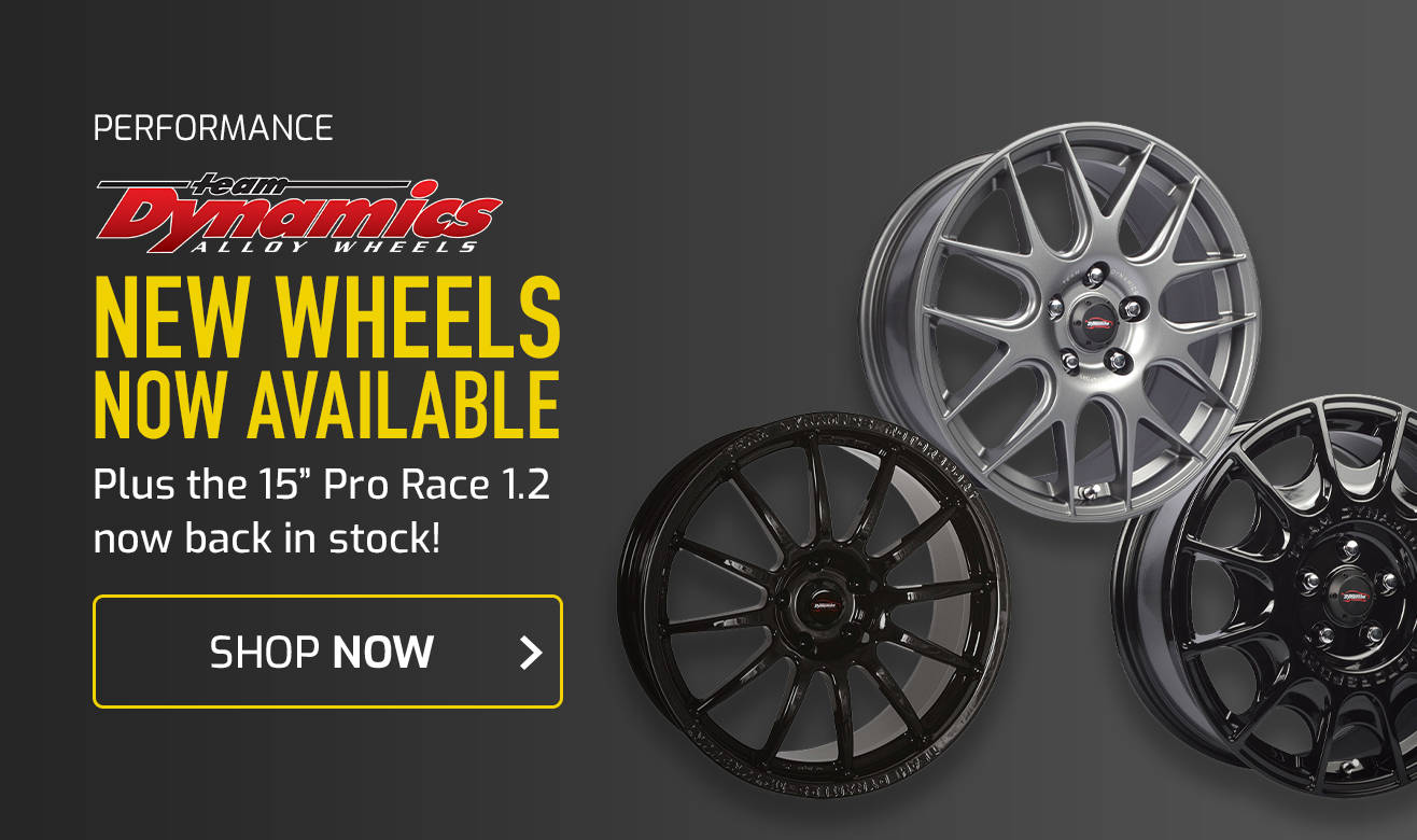 Team Dynamics Wheels now back in stock