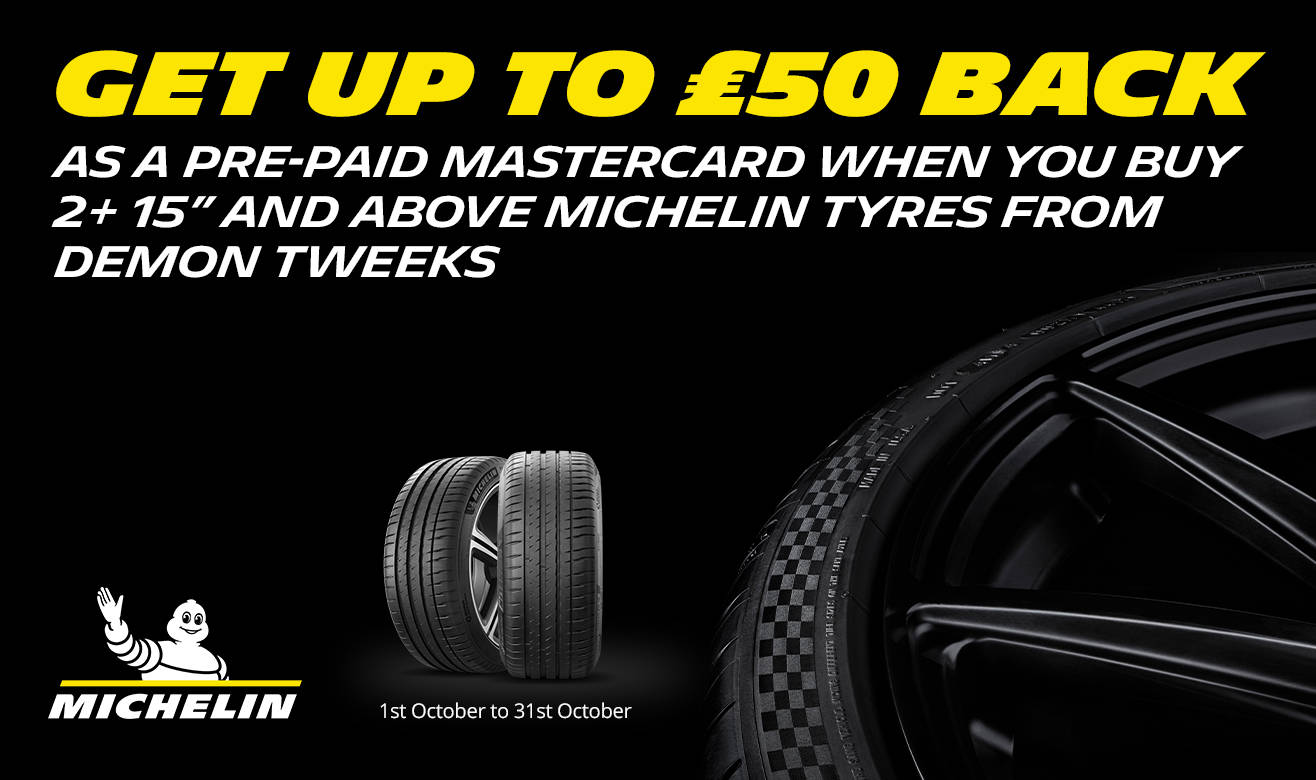 Michelin Claim up to £50 back