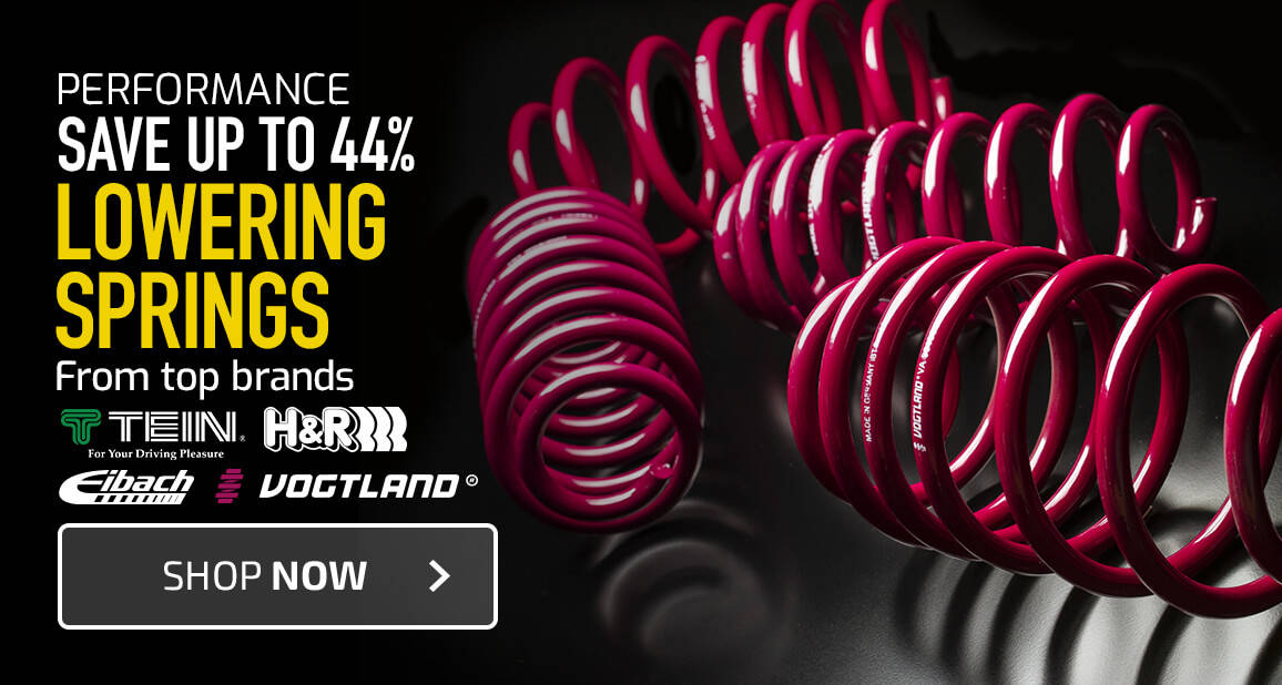 Lowering Springs - Save up to 44%