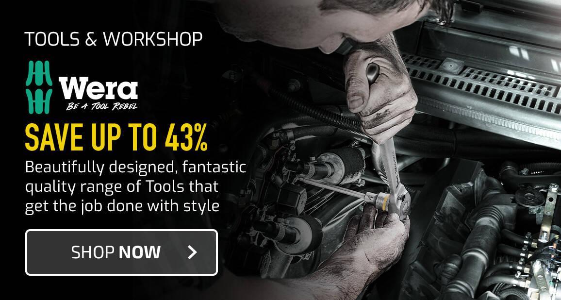 Wera - Be A Tool Rebel - Save up to 43%