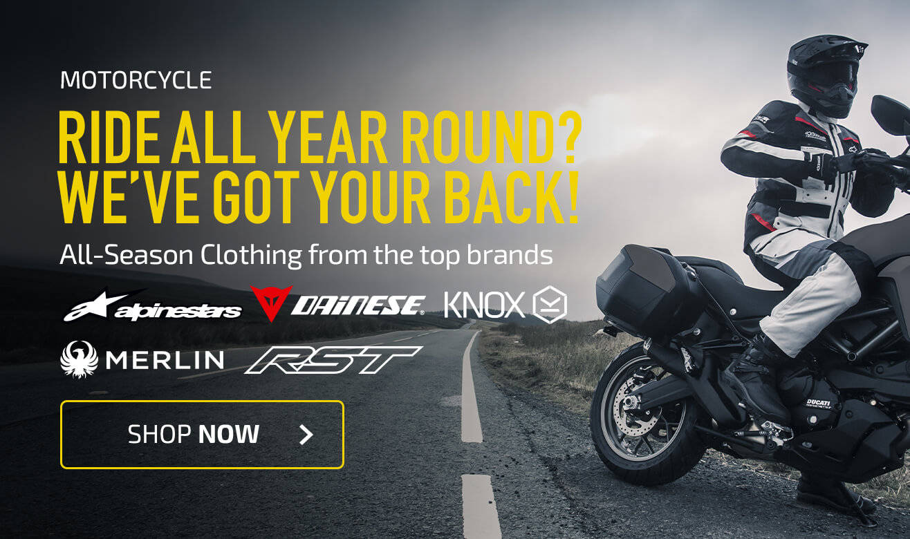 Ride All Year Round? We've Got your Back!