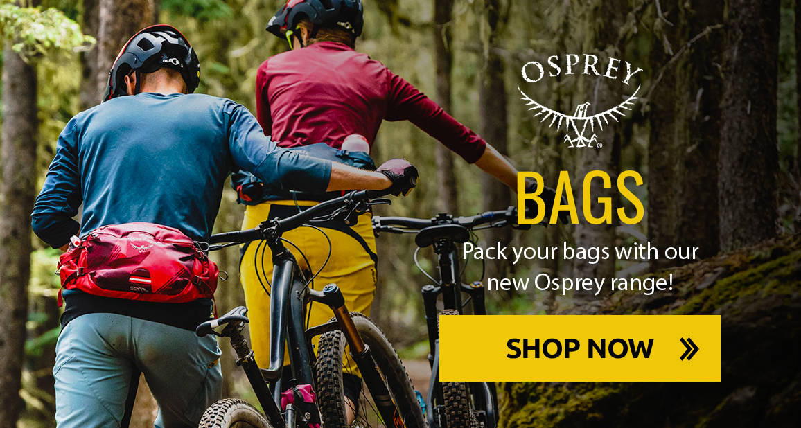 Pack your bags with our new Osprey range!