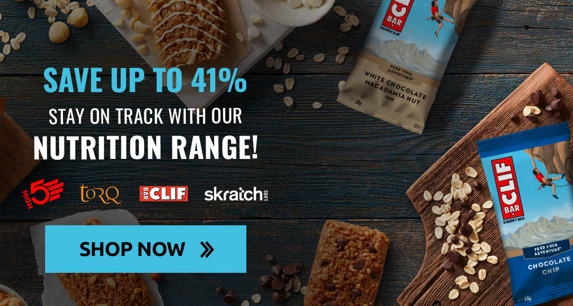 Stay on track and save up to 41% with our nutrition range!