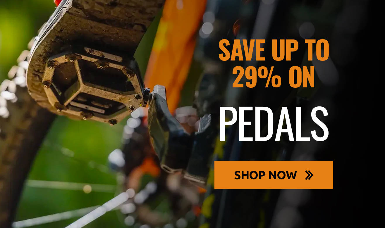 Save up to 29% on pedals!